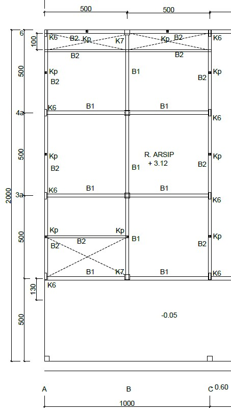 Struktur Ruko 2 Lantai Desainrumahminimalis73